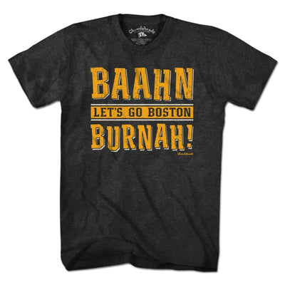 Baahn Burnah Boston Hockey T-Shirt - Chowdaheadz