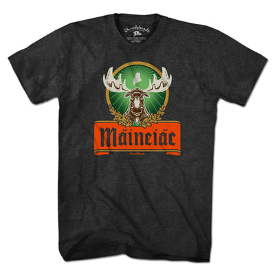 Maineiac Label T-Shirt - Chowdaheadz