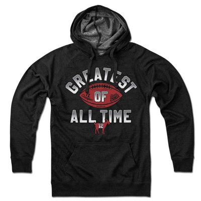 Greatest Of All Time Football Lightweight Hoodie - Chowdaheadz