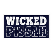 Wicked Pissah Sticker - Chowdaheadz