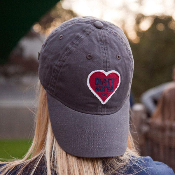 "Dirty Water Heart ""Ladies Pastime"" Adjustable Hat - Chowdaheadz"