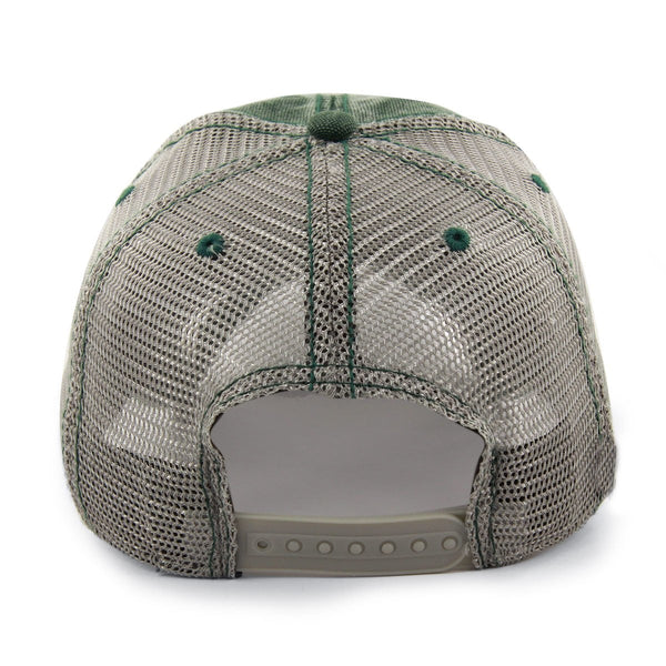 "Boston Shamrock ""Cobblestone"" Mesh Trucker Green Hat"