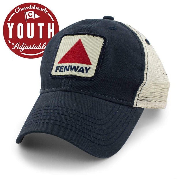 "Fenway Patch Youth ""Lil' League Trucker"" Hat - NAVY - Chowdaheadz"