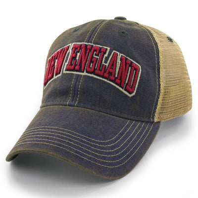 "New England Arch ""Dirty Water"" Trucker Hat - Chowdaheadz"