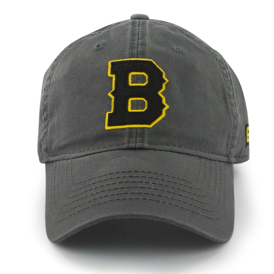 "Block B Black & Gold ""Old Timah"" Adjustable Hat - Chowdaheadz"