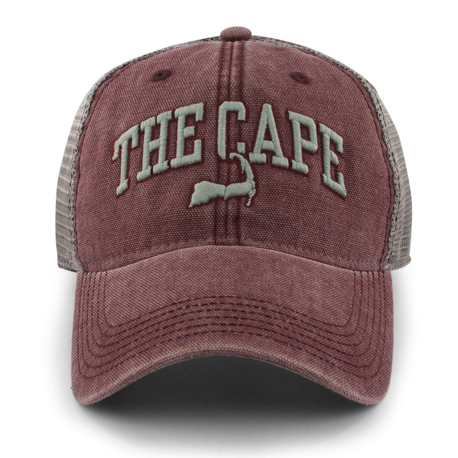 The Cape Arch Cobblestone Trucker Hat - Chowdaheadz