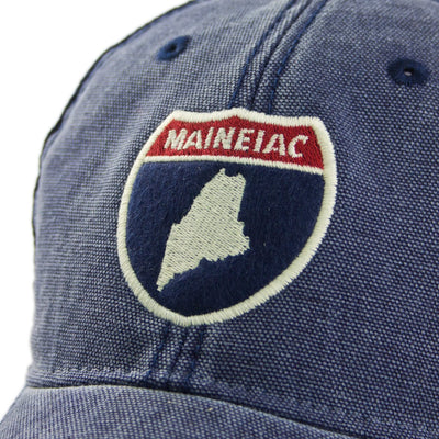 Maine Road Sign Cobblestone Trucker - Chowdaheadz