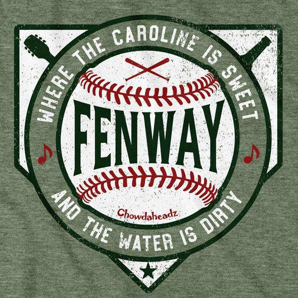 Sweet Caroline Dirty Water Fenway T-Shirt - Chowdaheadz
