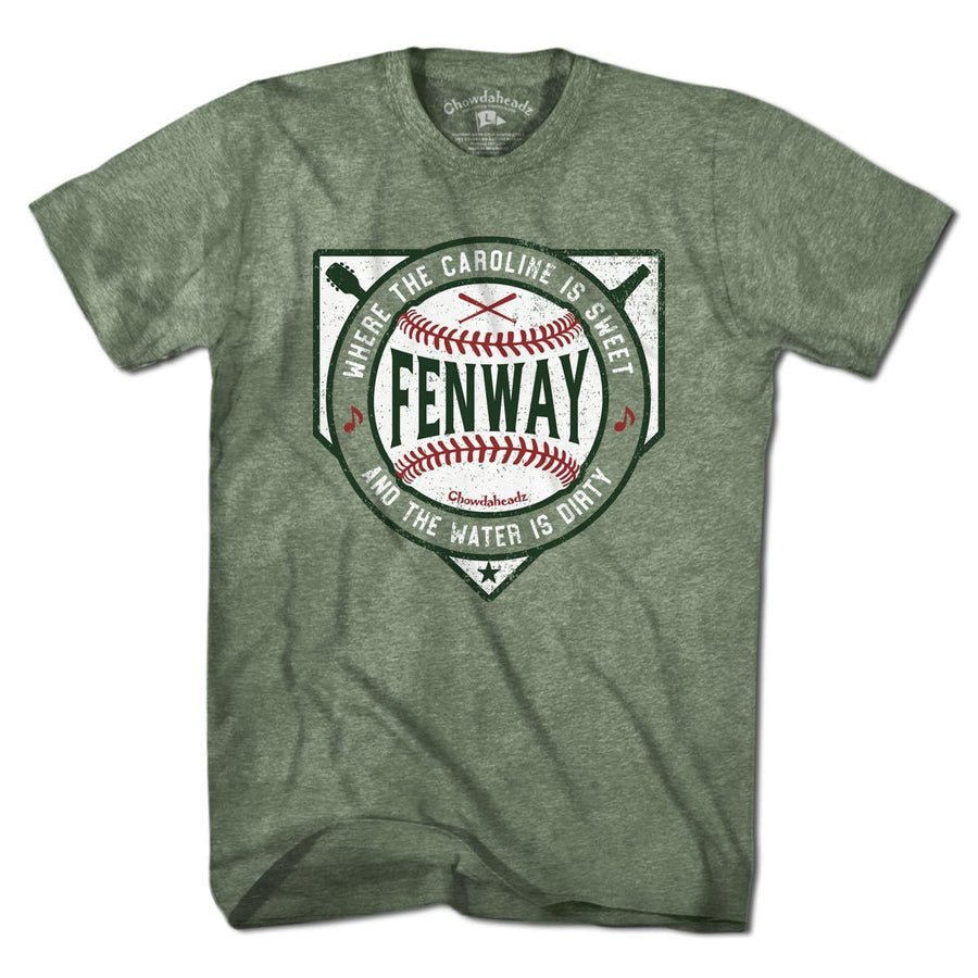 sweet caroline dirty water fenway t shirt chowdaheadz