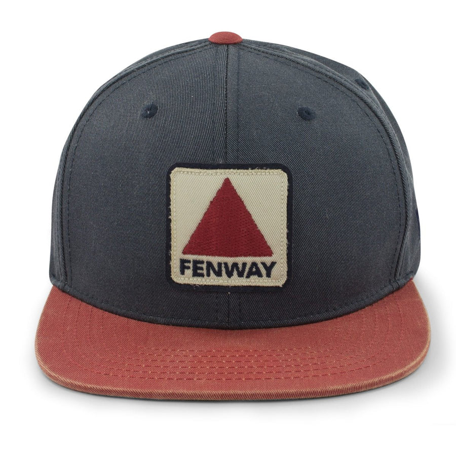"Fenway Patch ""Dashboard"" Snapback Navy Hat - Chowdaheadz"