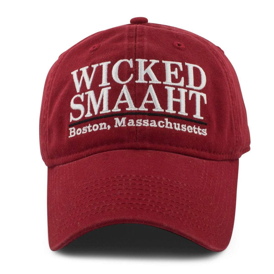 "Wicked Smaaht ""Pastime"" Adjustable Hat - Brick Red - Chowdaheadz"
