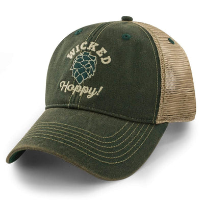 "Wicked Hoppy ""Dirty Water"" Trucker Hat - Chowdaheadz"