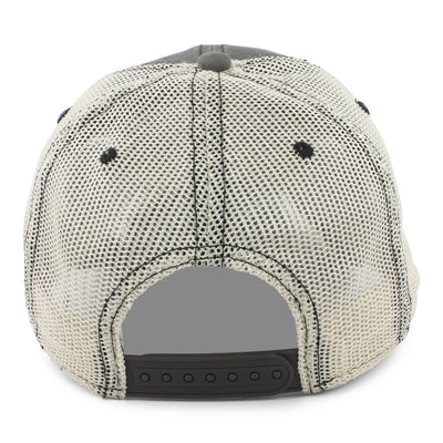 "Old Men Rock ""Turnpike"" Mesh Trucker Hat - Charcoal - Chowdaheadz"