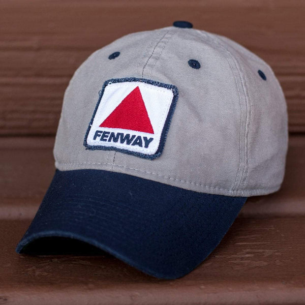 "Fenway Sign ""Cindah Block"" Adjustable Hat - Gray/Navy - Chowdaheadz"