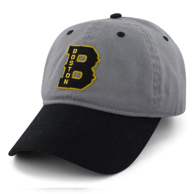 "Boston B ""Cindah Block"" Adjustable Hat - Gray/Black - Chowdaheadz"