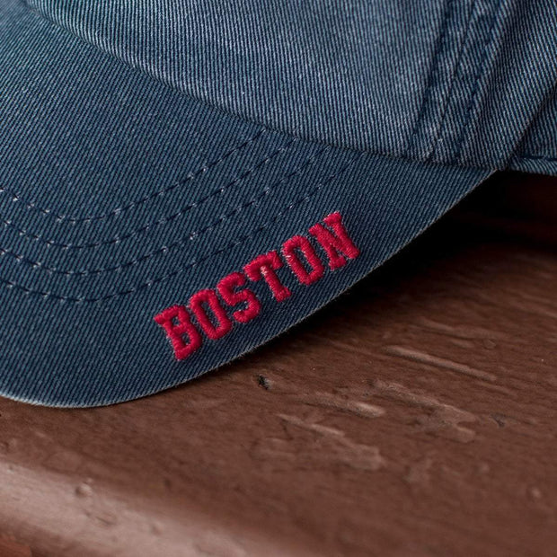 "Mini Boston Lobster ""Ballpahk"" Adjustable Hat - Vintage Navy - Chowdaheadz"