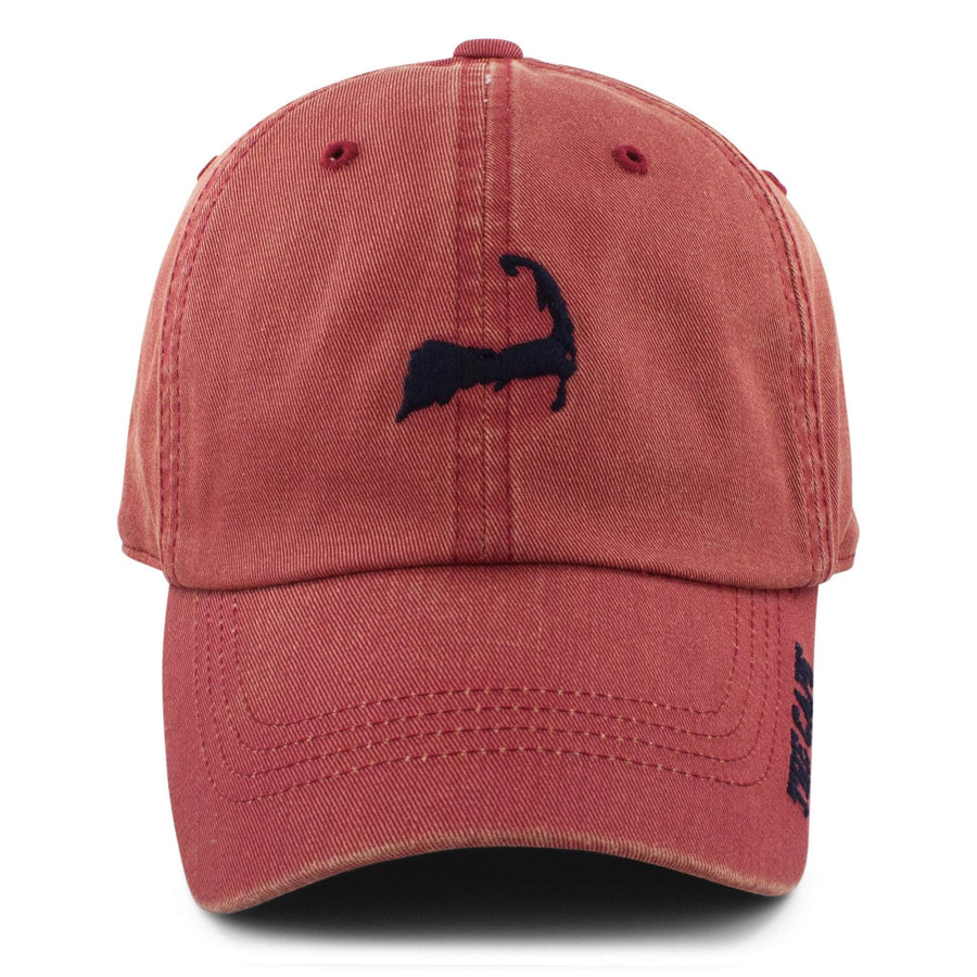 "Mini Cape Cod ""Ballpahk"" Adjustable Hat - Vintage Red - Chowdaheadz"