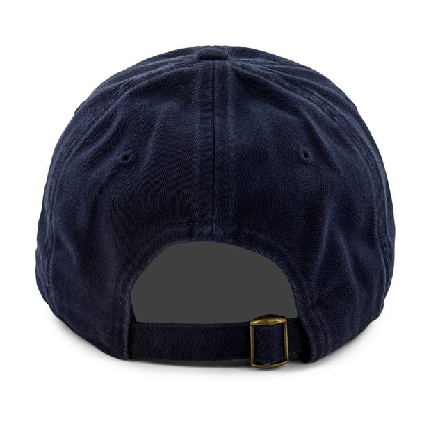 "Boston B ""Old Timah"" Adjustable Hat - Navy - Chowdaheadz"