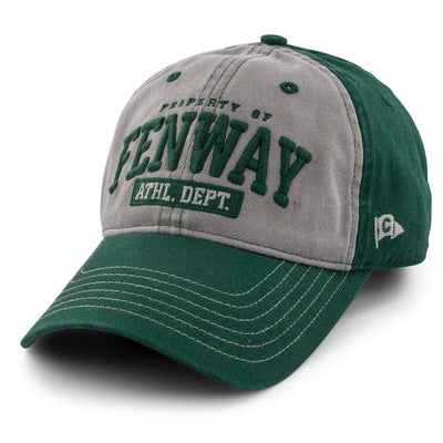 "Property of Fenway ""Varsity"" Adjustable Hat - Field Green - Chowdaheadz"