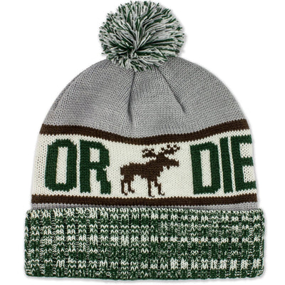 Live Free Or Die Old Port Knit Beanie - Chowdaheadz