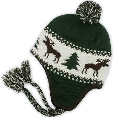 Ugly Moose Nor'Eastah Knit - Dark Green - Chowdaheadz
