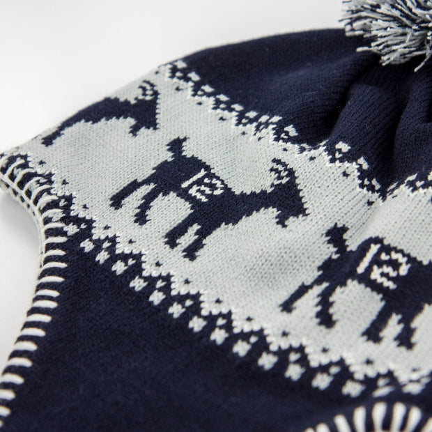 The GOAT Nor'Eastah Knit - Navy - Chowdaheadz