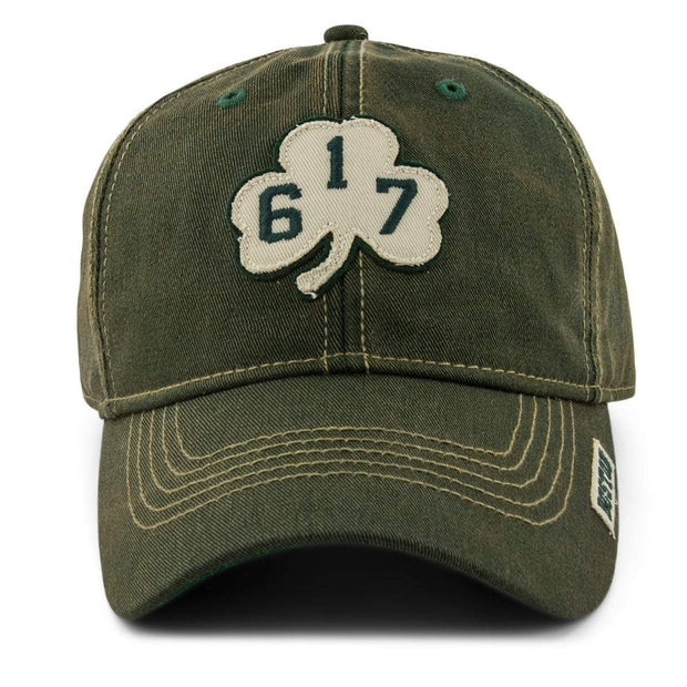 '617' Shamrock Dirty Water Adjustable Hat - Dark Green - Chowdaheadz