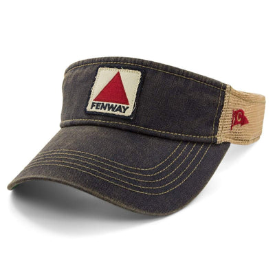 Fenway Patch Dirty Water Mesh Visor - Navy - Chowdaheadz