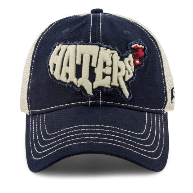 New England Haters Mesh Back Hat - Chowdaheadz
