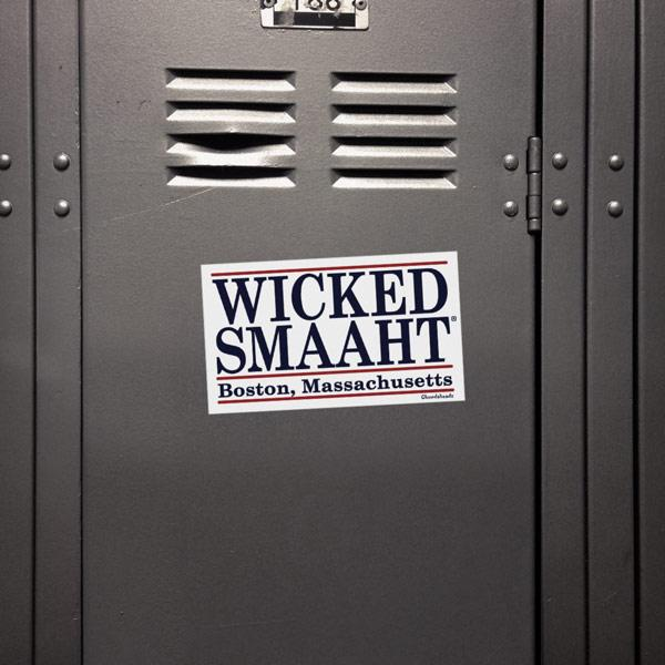 Wicked Smaaht Sticker - Chowdaheadz