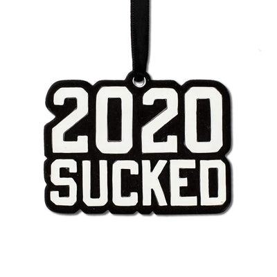 2020 Sucked Resin Ornament - Chowdaheadz