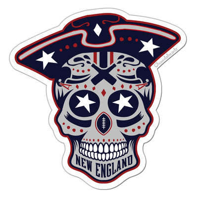 New England Dead Head Sticker - Chowdaheadz