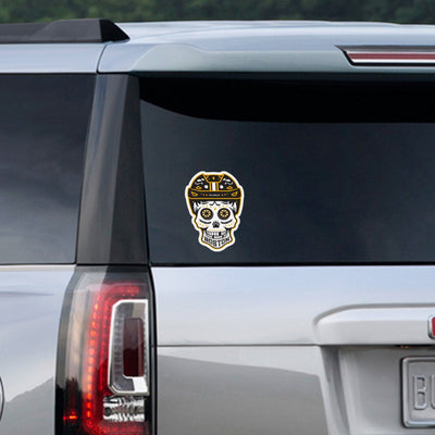 Boston Black & Gold Dead Head Sticker - Chowdaheadz