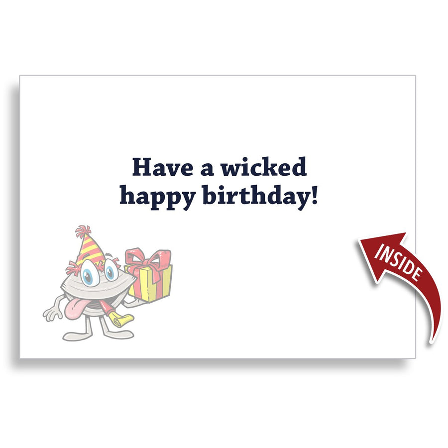 Let's Paahty Birthday 5x7 Greeting Card - Chowdaheadz