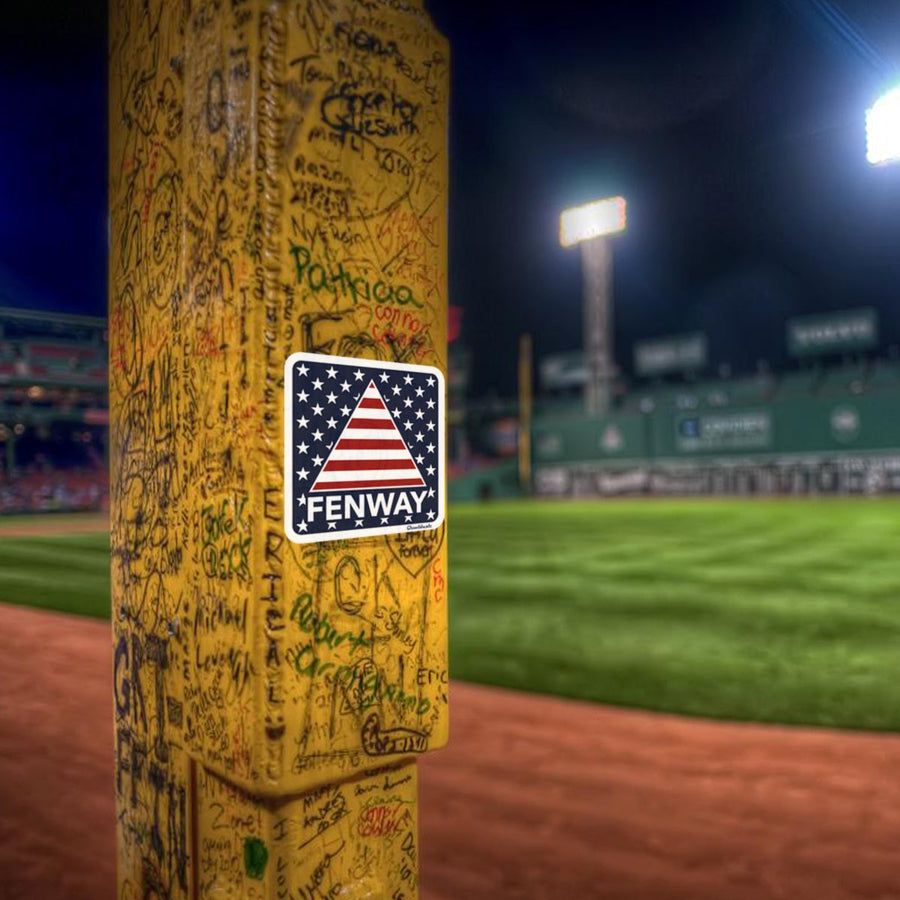 Fenway Stars & Stripes Sticker - Chowdaheadz