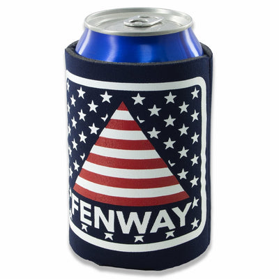 Fenway Stars & Stripes Collapsible Can Koolie - Chowdaheadz