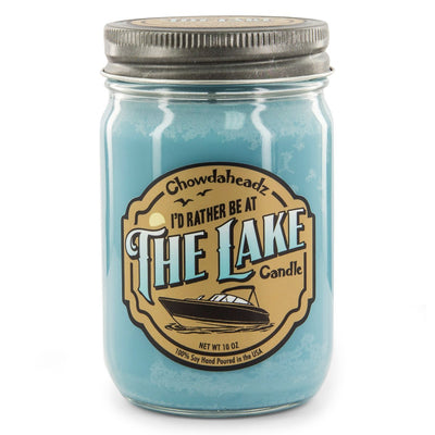 I'd Rather Be At The Lake Candle - Chowdaheadz