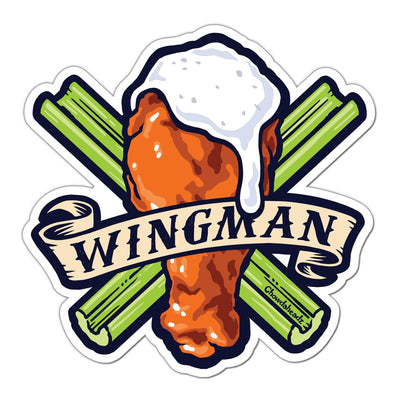Wingman Sticker - Chowdaheadz