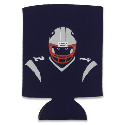 New England Angry Silhouette Collapsible Can Koolie - Chowdaheadz
