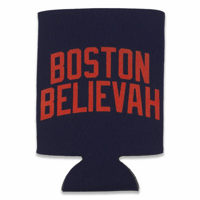 Boston Believah Navy Collapsible Can Koolie - Chowdaheadz