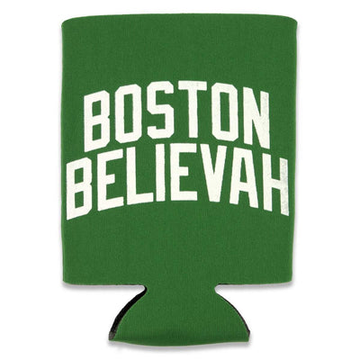 Boston Believah Kelly Green Collapsible Can Koolie - Chowdaheadz