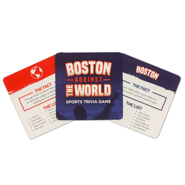 Boston Against The World Sports Trivia Game - Chowdaheadz
