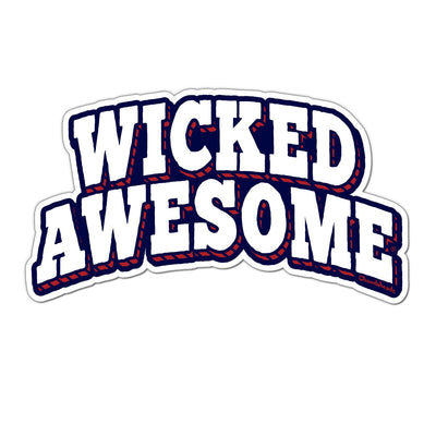 Wicked Awesome Arch Sticker - Chowdaheadz