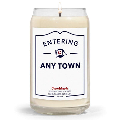 Custom Entering Hometown 13.75oz Candle - Chowdaheadz