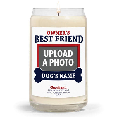 Custom Best Friend Dog 13.75oz Candle - Chowdaheadz