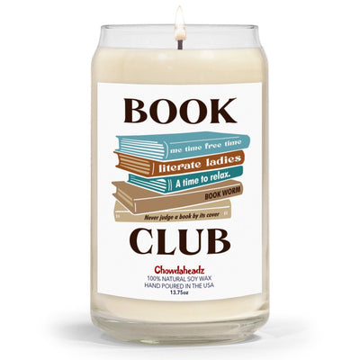 Book Club 13.75oz Candle - Chowdaheadz