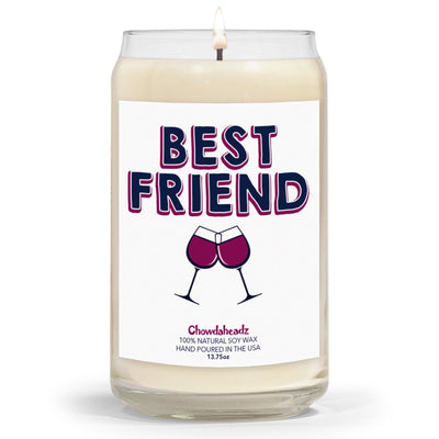 Best Friend 13.75oz Candle - Chowdaheadz