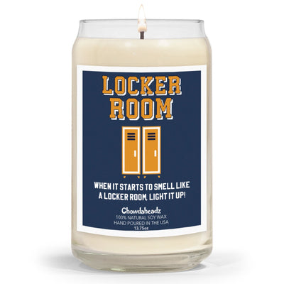 Locker Room 13.75oz Candle - Chowdaheadz