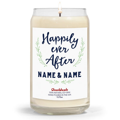 Happily Ever After Custom 13.75oz Candle - Chowdaheadz
