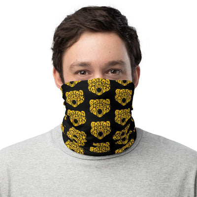 Boston Black & Gold Neck Gaiter - Chowdaheadz